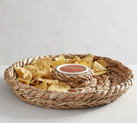 Katherine Rope Chip & Dip Server