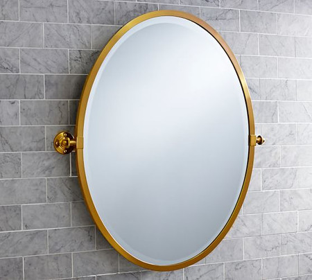 Kensington Oval Pivot Mirror