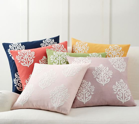 Kyla Embroidered Pillow Covers