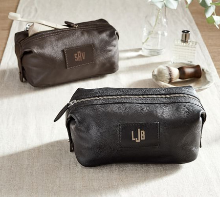 Grant Leather Toiletry Case