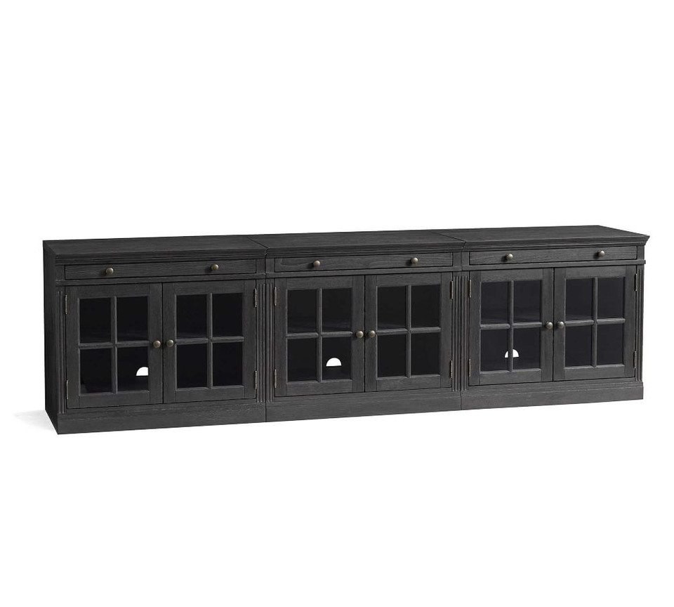 Livingston 105 Media Console Pottery Barn Ca