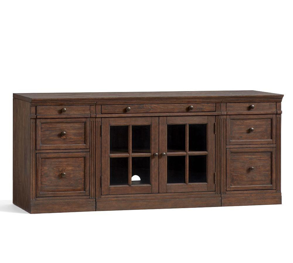 "Livingston 70"" Media Console, Dusty Charcoal"