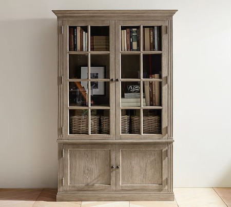 "Livingston 48.5"" x 73.5"" Glass Cabinet"