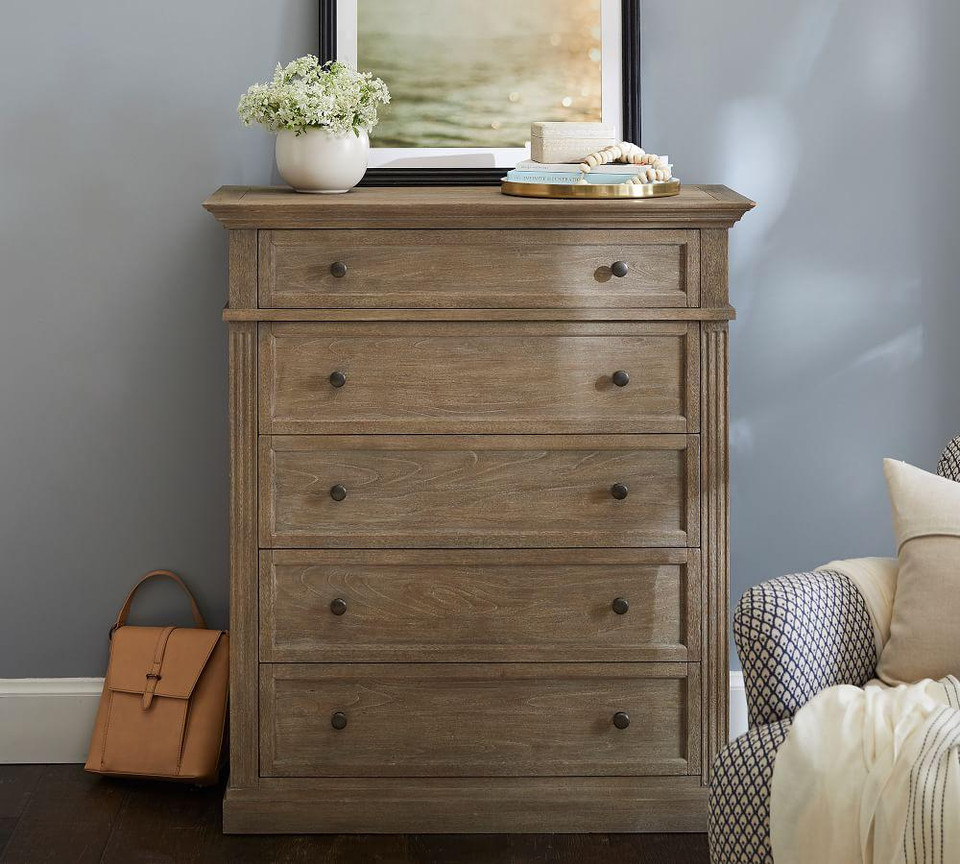Livingston Tall Dresser Pottery Barn Canada