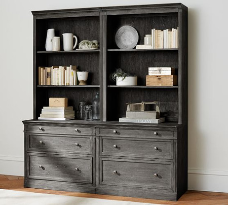 Livingston Double Bookcase