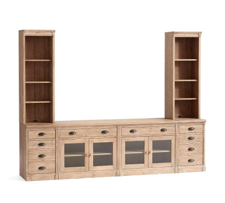 Lucca Medium Entertainment Center with Drawers