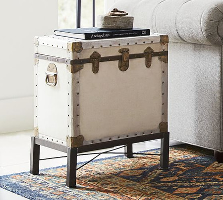 Ludlow Trunk End Table
