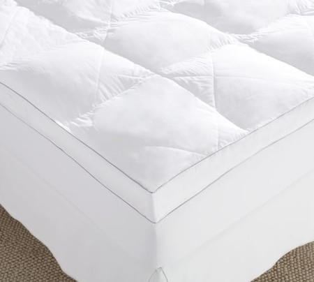 Luxury Quilted Fiberbed with Elastic Skirt