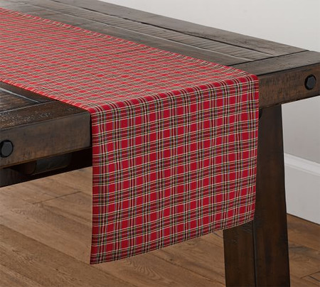 Madison Plaid Table Runner