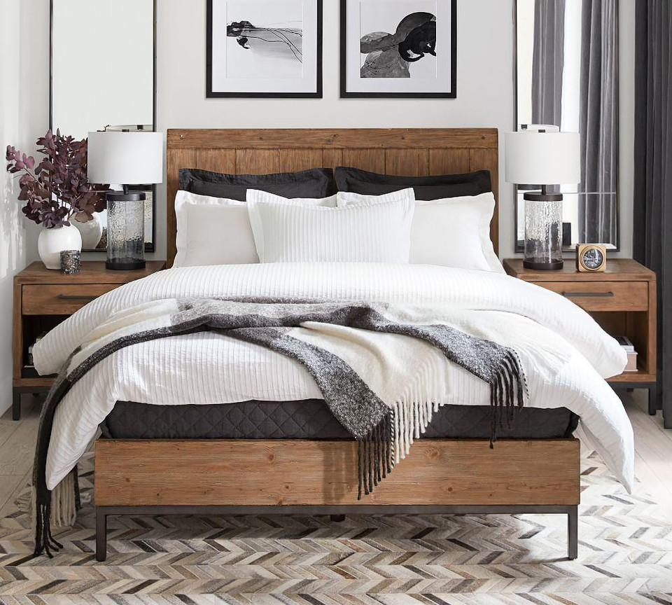 Malcolm Platform Bed Pottery Barn Canada
