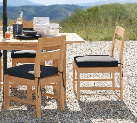 Malibu Teak Dining Side Chair
