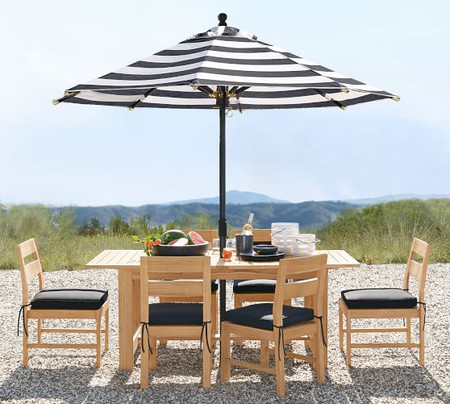 Perfect Pair: Malibu Teak Dining Table + Chair