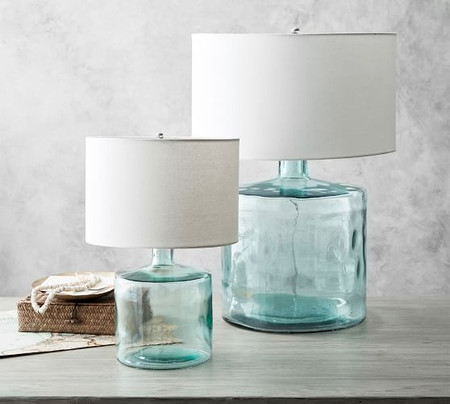 Mallorca Recycled Glass Table Lamp