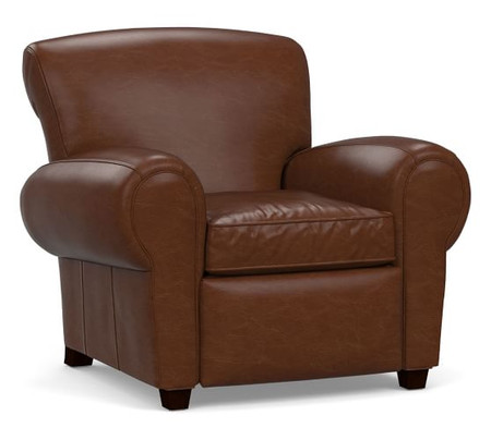 Manhattan Leather Power Recliner