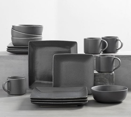 Mason 16-Piece Square Dinnerware Set