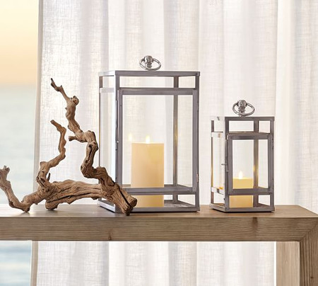 Maxwell Handcrafted Lanterns - Polished Nickel