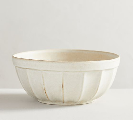Mendocino Stoneware Serving Bowl