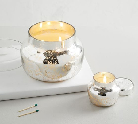 Mercury Glass Scented Candle - Neroli Jasmine