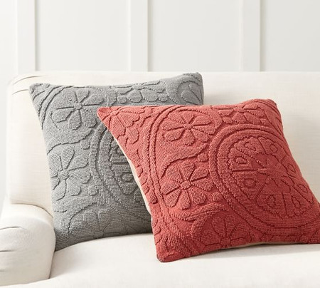 Mia Embroidered Pillow Covers