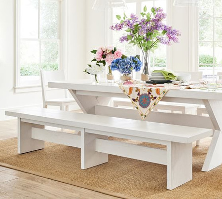Modern Farmhouse Dining Bench
