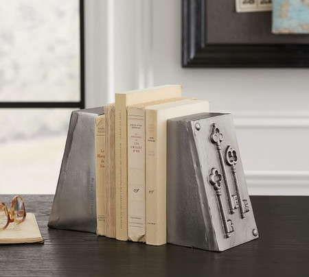 Molded Key Bookends