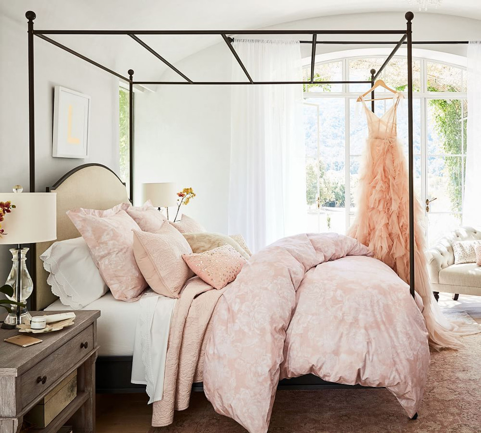 Monique Lhuillier Garden Rose Duvet Cover & Sham