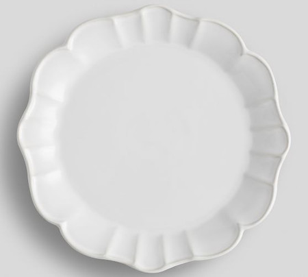 Monique Lhuillier Juliana Scalloped Dinner Plate