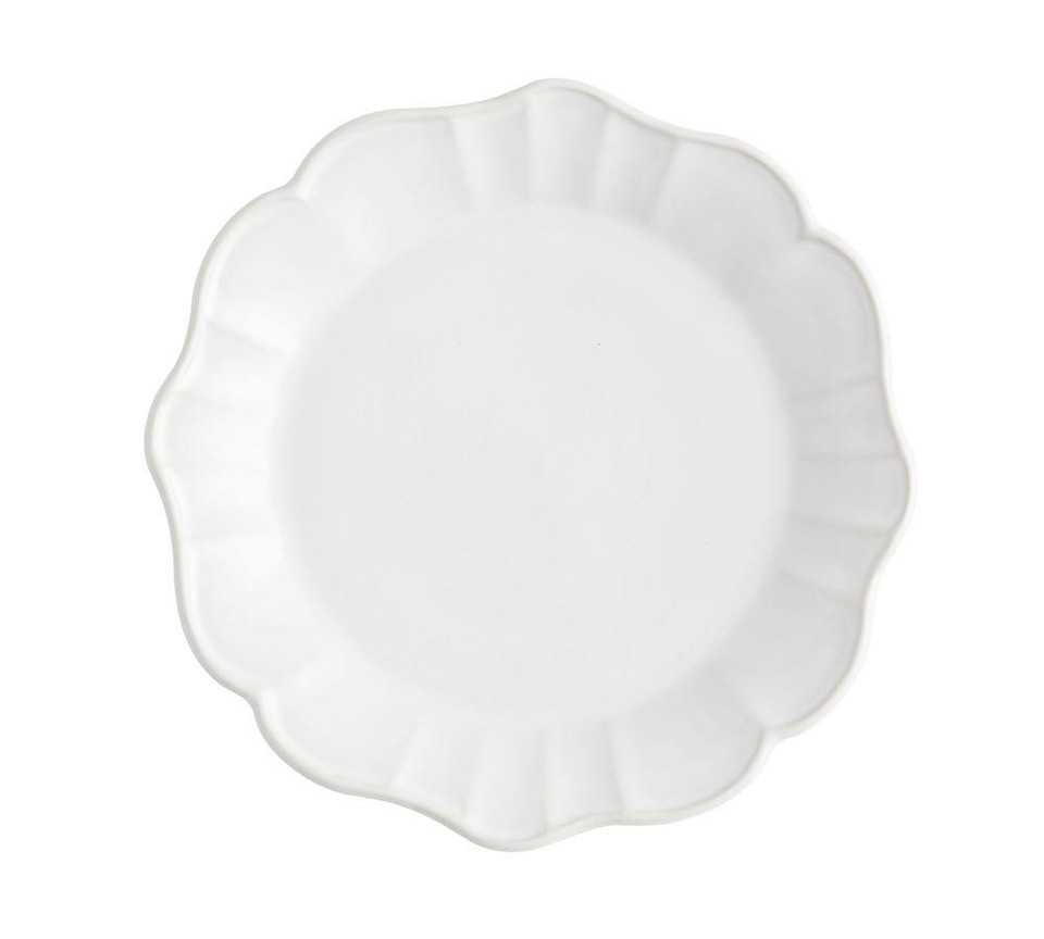 Monique Lhuillier Juliana Scalloped Salad Plate