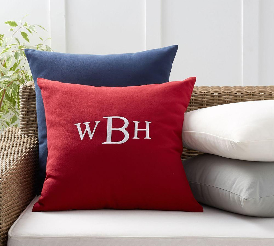 Personalized Indoor Outdoor Pillows Pottery Barn Canada