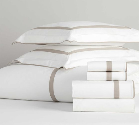 Morgan Organic Percale Bedding Set