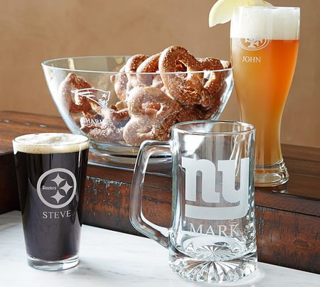 NFL Beer Glasses