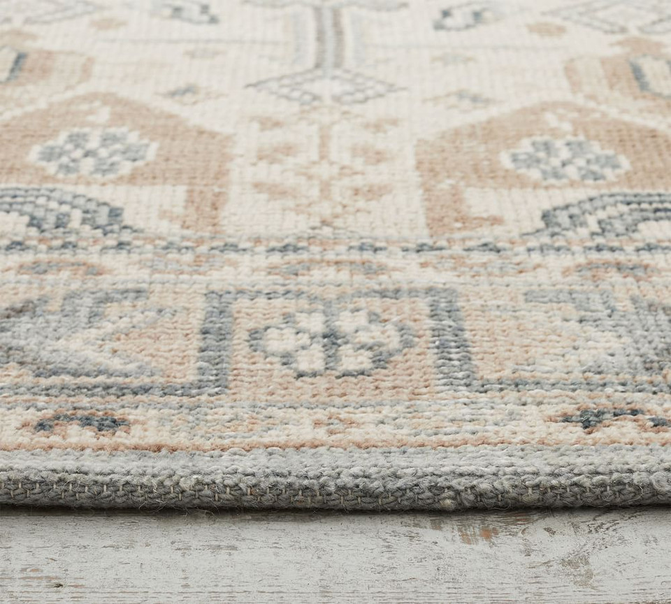 Nicolette Hand Knotted Rug - Cool Multi