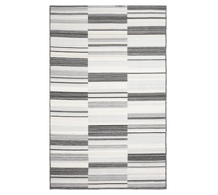 Niley Reversible Synthetic Indoor/Outdoor Rug