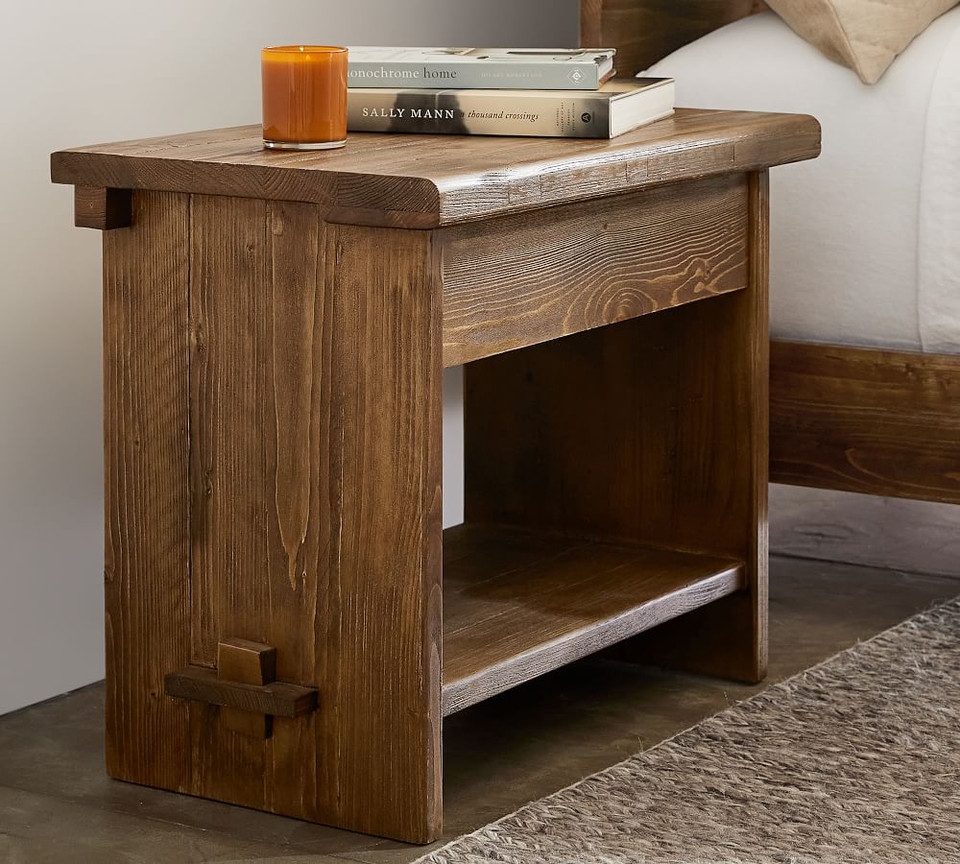 "North 28"" Reclaimed Wood Nightstand"