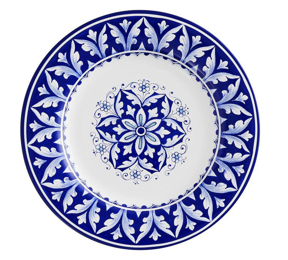 Nova Deruta Dinner Plates, Set of 4