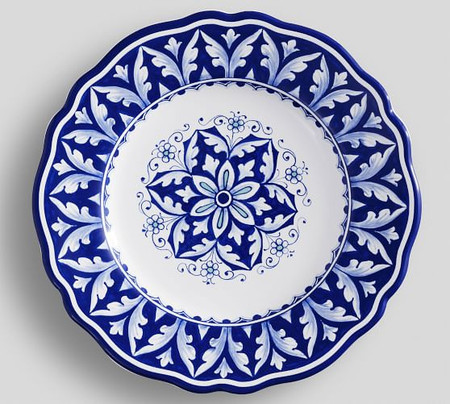 Nova Deruta Salad Plates, Set of 4