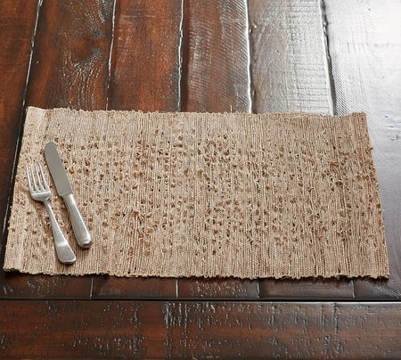 Nubby Woven Ramie Placemat