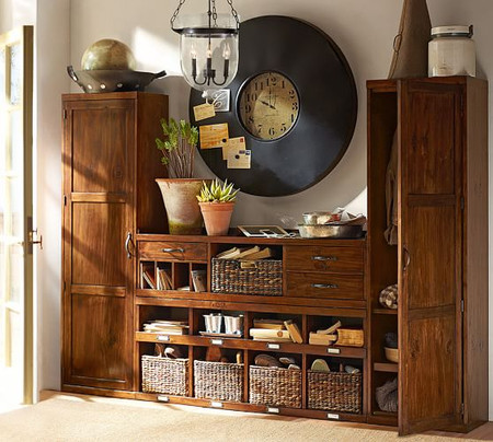 Entryway Benches Amp Tables Entryway Furniture Pottery