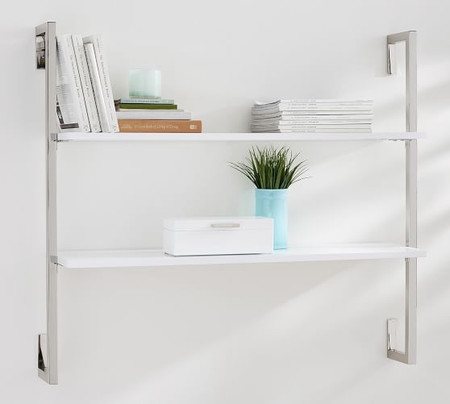 Olivia Wall Mounted Shelves - 2 Tier