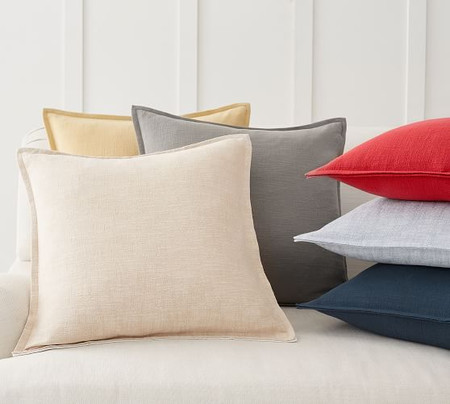 Organic Cotton Casual Reversible Pillow Cover