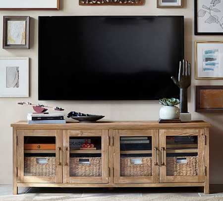 Parker Reclaimed Wood Media Console