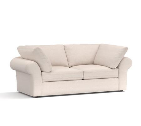 PB Air Roll Arm Upholstered Sofa