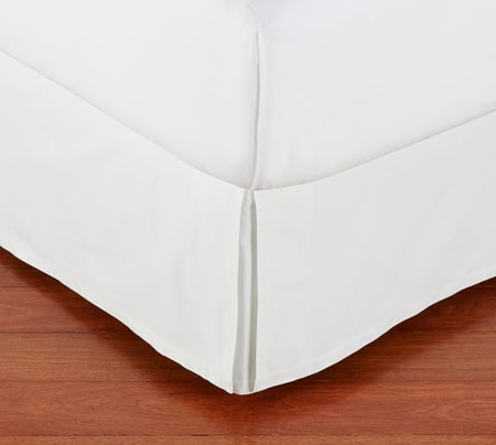 PB Basic Pleated Cotton Bed Skirt
