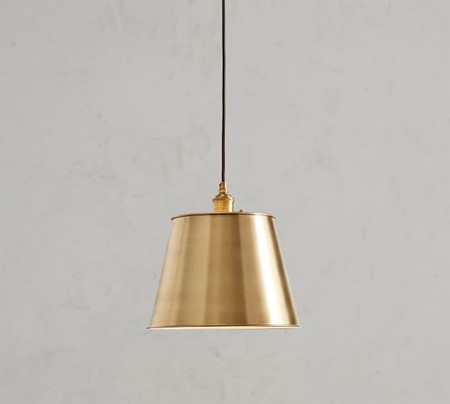 PB Classic Cord Pendant - Tapered Metal Shade