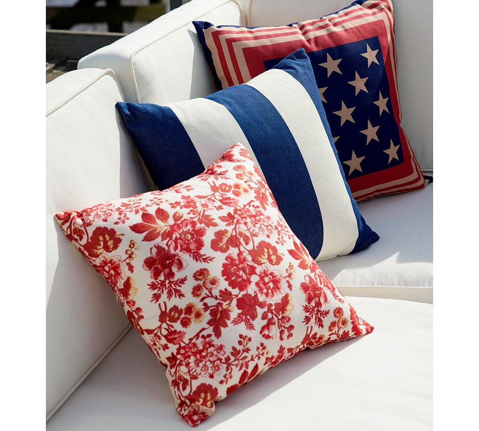 Classic Striped Indoor/Outdoor Pillows