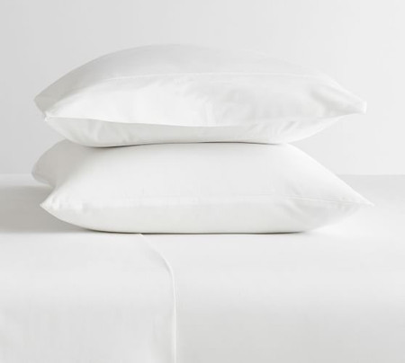 PB Classic 400-Thread-Count Organic Percale Pillowcases