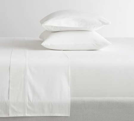 400-Thread-Count Organic Percale Sheet Set