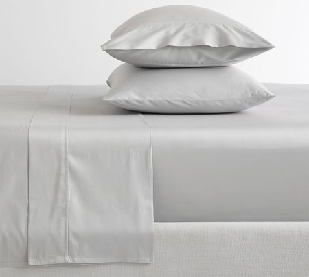 PB Essential 300-Thread-Count Flat Cotton Sheet