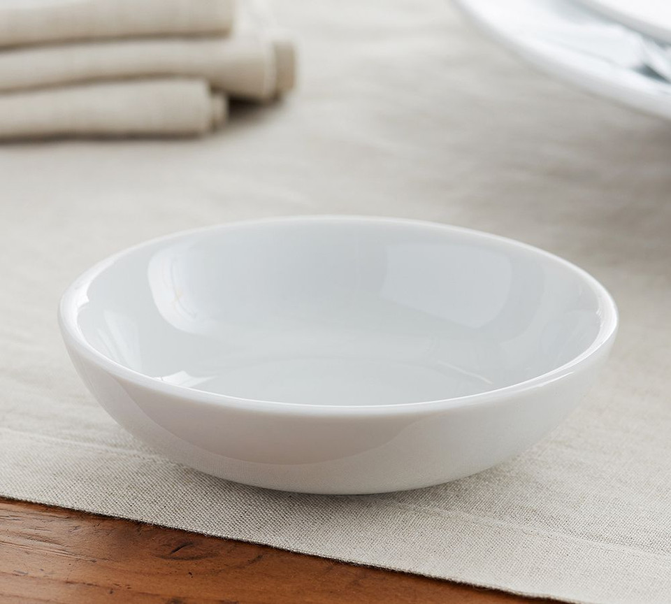 Great White Porcelain Snack Bowl