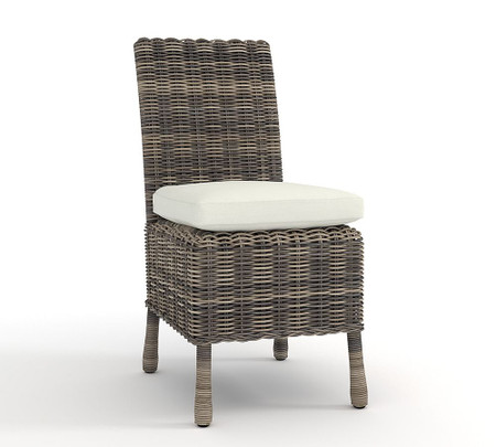 Huntington All-Weather Wicker Dining Side Chair
